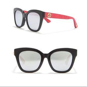 NEW AUTHENTIC Gucci 52mm Square Sunglasses